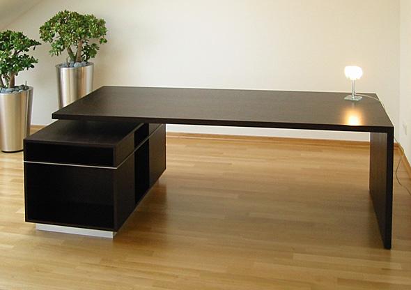 ludwig nied schreibtische f r b ro praxis tisch mit unterschrank. Black Bedroom Furniture Sets. Home Design Ideas