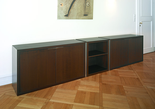 ludwig nied sideboards schr nke und regale sideboard buche gebeizt. Black Bedroom Furniture Sets. Home Design Ideas