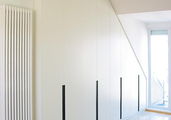 ludwig nied aufbewahren einbauschrank wei lackiert. Black Bedroom Furniture Sets. Home Design Ideas