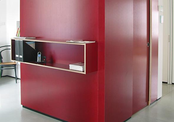 ludwig nied aufbewahren begehbare garderobe rote. Black Bedroom Furniture Sets. Home Design Ideas