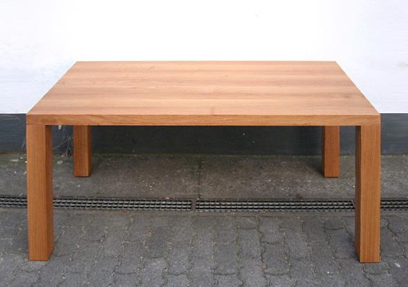 Ludwig + Nied  Küchen  Esstisch aus Eiche Massivholz